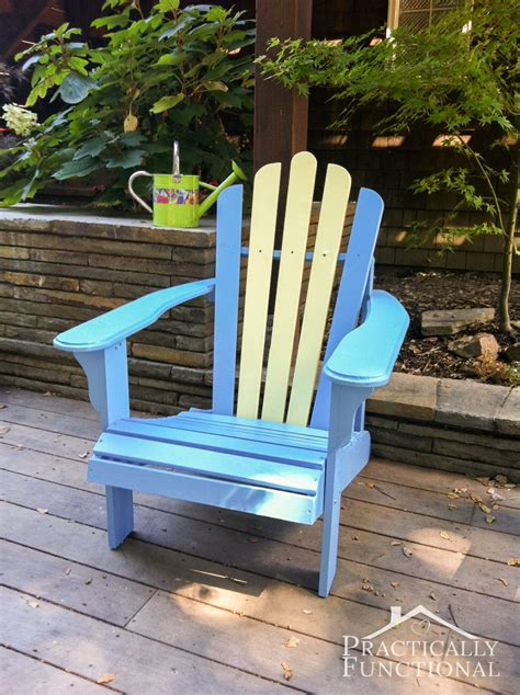 diy painted adirondack chairs