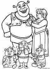 Shrek Coloring Pages Babies Cool2bkids Baby Printable Para Colorear Colouring Fiona Cartoons Disney Drawing Princess Character Cartoon Sheets Ogre Dragon sketch template