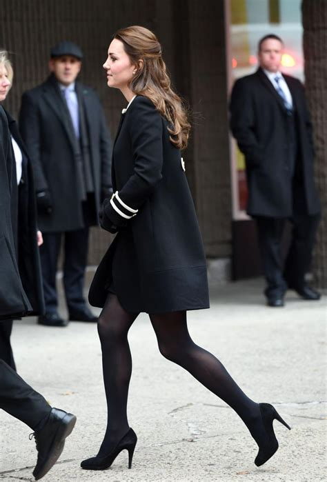 kate middletons high heels raise eyebrows  trip