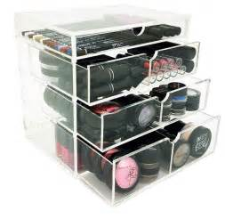 Cosmetic Storage Cabinets by Ondisplay 4 Tier Nyc Acrylic Cosmetic Makeup Organizer