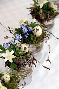 Easter Table Flower Arrangements Centerpie…