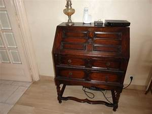 Meuble Secrétaire Ancien : meuble bureau secretaire mes ~ Teatrodelosmanantiales.com Idées de Décoration