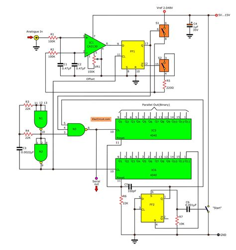 Analog Digital Converter Circuit