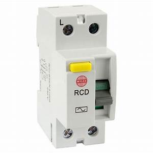Wylex Wrm63  2 63a 100ma Double Pole Rcd Residual Current