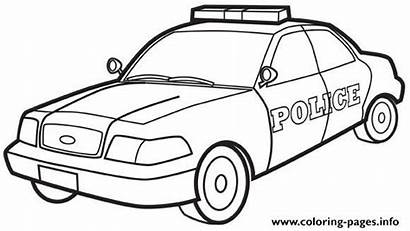 Coloring Police Pages Printable