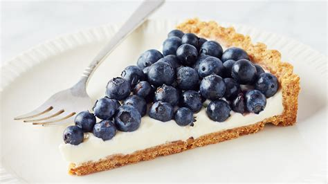 marthas buttermilk blueberry tart  walnut crust