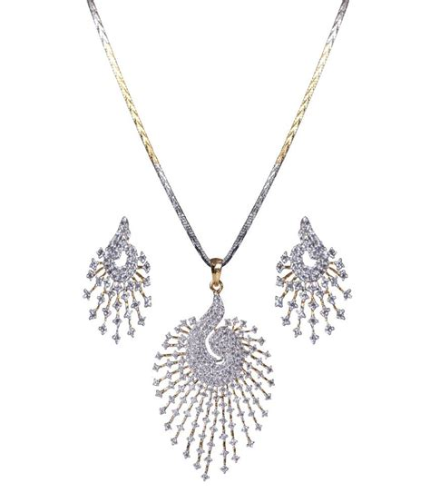 gold jewellery discount xgoldindia stunning pendant set buy