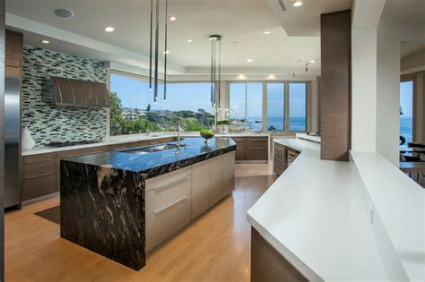how are kitchen islands corona mar front contemporary kitchen 7193