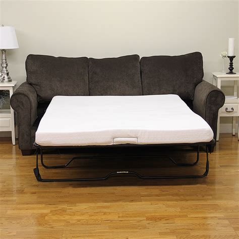 sofa bed memory foam mattress replacement twin size couch