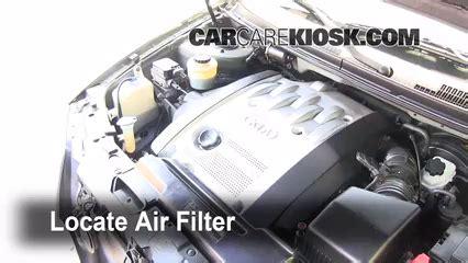 air filter how to 2002 2005 kia sedona 2003 kia sedona ex 3 5l v6