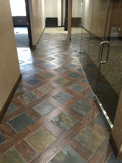 porcelain wood look tile and slate design floors lewisville