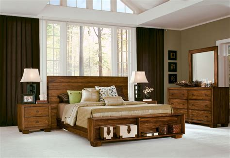 4 Piece Modus Chelsea Park Solid Wood Bedroom Set With