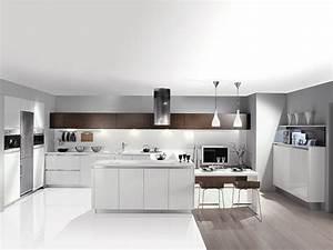 une cuisine sans meuble haut With hauteur des meubles haut cuisine
