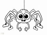 Spider Coloring Pages Halloween Cute Fly Printable Guy Minecraft Iron Drawing Eyes Template Ghost Lucas Sheets Getcolorings Insect Bitsy Itsy sketch template