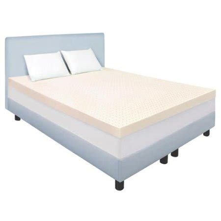 mattress topper walmart form ventilated 3 inch memory foam mattress topper