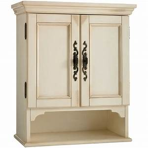 bathroom wall hutch cottage bathroom storage cabinet hgtv With kitchen cabinets lowes with large ocean wall art