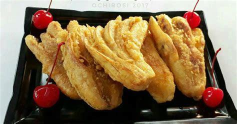 Resep pisang goreng kremes renyah crispy sederhana spesial asli enak. Resep Pisang Goreng Kipas #indonesiamemasak oleh ochirosi - Cookpad