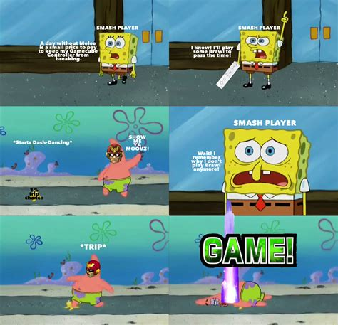 Super Smash Bros Memes - prat falling pants super smash brothers know your meme