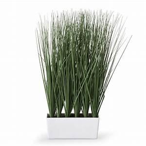 Ikea Plantes Artificielles : jardini re d 39 herbes hautes artificielles h40cm vert herbes plantes artificielles et d co ~ Teatrodelosmanantiales.com Idées de Décoration