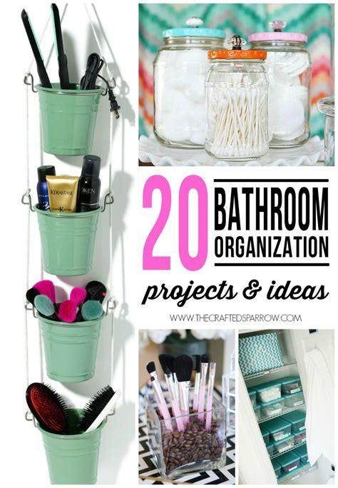 20 Bathroom Organization Projects & Ideas En 2018 Diy