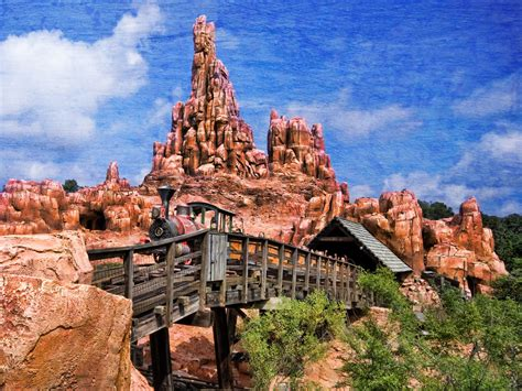 thunder mountain disney world widescreen wallpaper wide