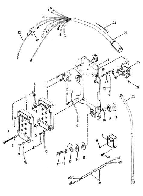 Mercury Solenoid Wiring by Mercury Mariner Racing Mercury Xr2 Wiring Harness Starter