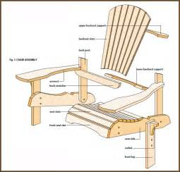 Skull Chair Plans by How To Build Adirondack Chairs Plans Daily Woodworking