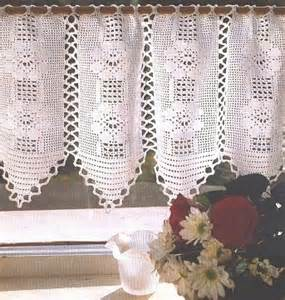 Modele Rideau Cuisine Crochet Gratuit by Mod 232 Le Gratuit Rideau Crochet