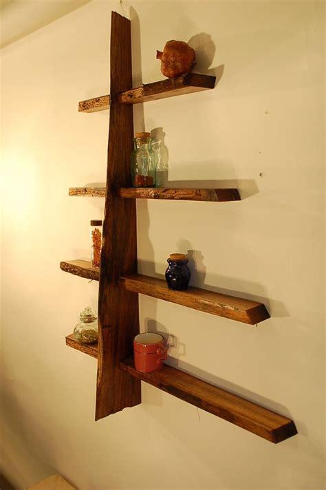Wood Wall Shelves by Make A Tree Shelf Bookshelves Owl Nursery Craft