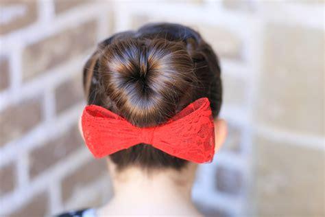 heart bun hairstyle how to create a love bun valentine s day hairstyles
