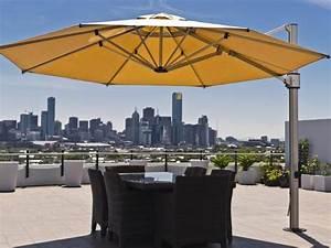 Eclipse Cantilever  Side Post  Umbrella For Pool  U0026 Spa