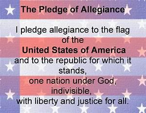jobsanger: Don't Say The Pledge