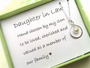 daughter in law gift gift boxed jewelry thank you gift With gift for daughter in law on wedding day