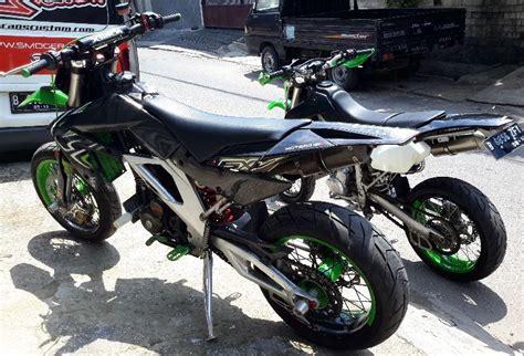 Modifikasi Jupiter Mx Jadi Motor Sport by Modifikasi Motor Sport Bebek Jadi Supermoto Perhatikan