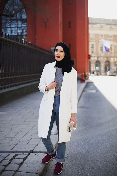 popular hijab street style fashion ideas  season