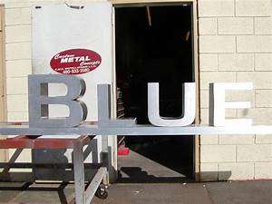 sheet metal letters custom metal concepts and creations With sheet metal letters