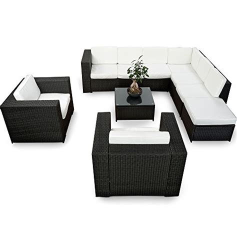 polyrattan lounge set günstig xinro xxxl polyrattan 25tlg lounge set g 252 nstig 2x 1er lounge sessel gartenm 246 bel lounge