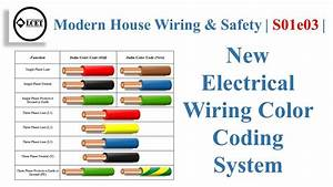 New Electrical Wiring Color Coding System