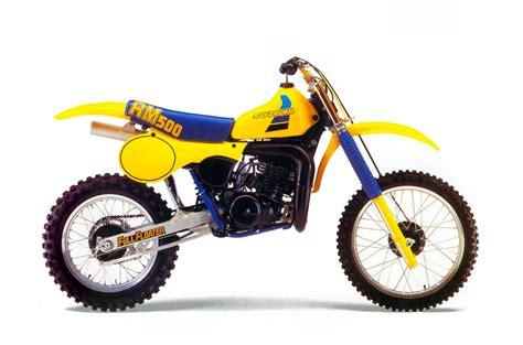 Suzuki Rm 500 by Classic Steel 4 1984 Suzuki Rm500 Pulpmx