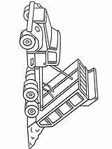 Dump Truck Coloring Printable sketch template