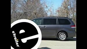Installation Of A Trailer Hitch On A 2012 Toyota Sienna