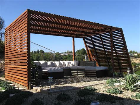 redwood pergola modern style shade structure pergolas