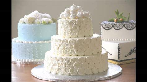 simple wedding cake decorating ideas youtube