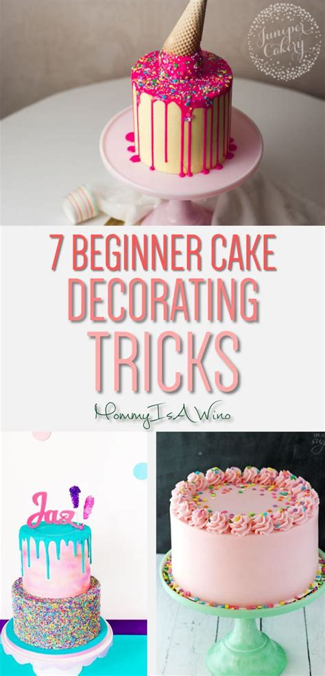 easy cake decorating trends  beginners mommy