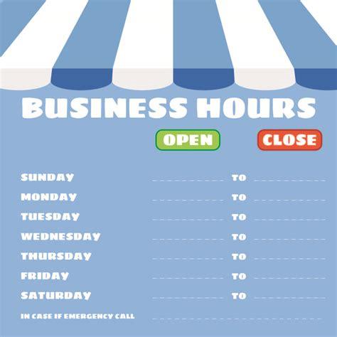 printable office hours sign printableecom