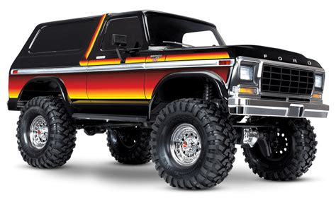 traxxas trx  ford bronco trail truck   rc