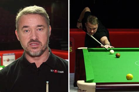 world snooker championship  stephen hendry reveals
