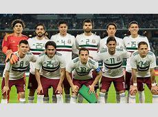 Selección Mexicana La selección mexicana jugará su último