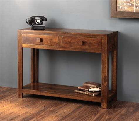 stylish dressing tables solid mango wood console table casa indian