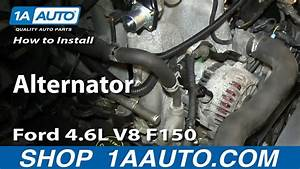 How To Replace Alternator 04-08 Ford F150 Truck